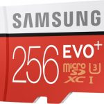 Samsung EVO Plus 256GB – card microSD incapator si ultra rapid