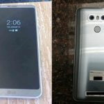 LG G6 apare in poze reale; are display 'Always On' si spate metalic 'glossy'