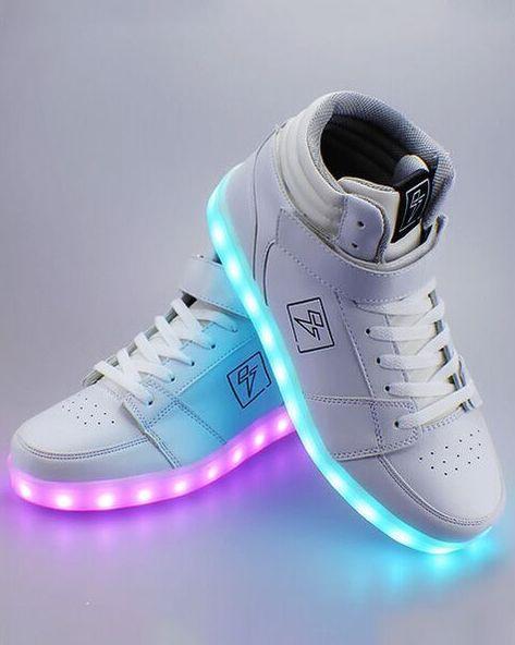 Adidasi cu lumini LED 1