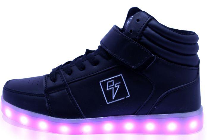 Adidasi cu lumini LED 2