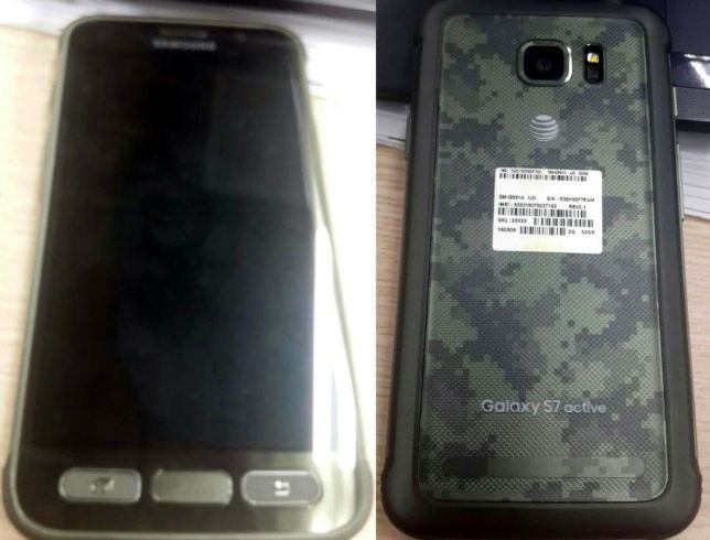 Samsung Galaxy S7 Active 1